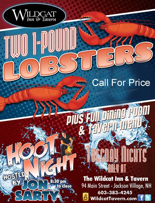 Tuesday Night Lobster Special